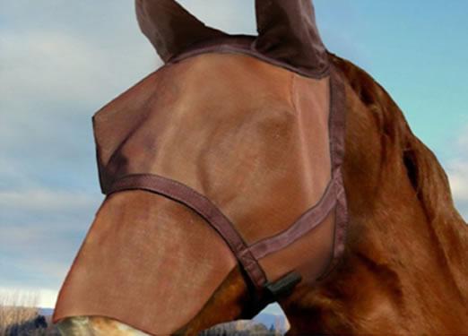 Maske protiv muha stite konja od sunca