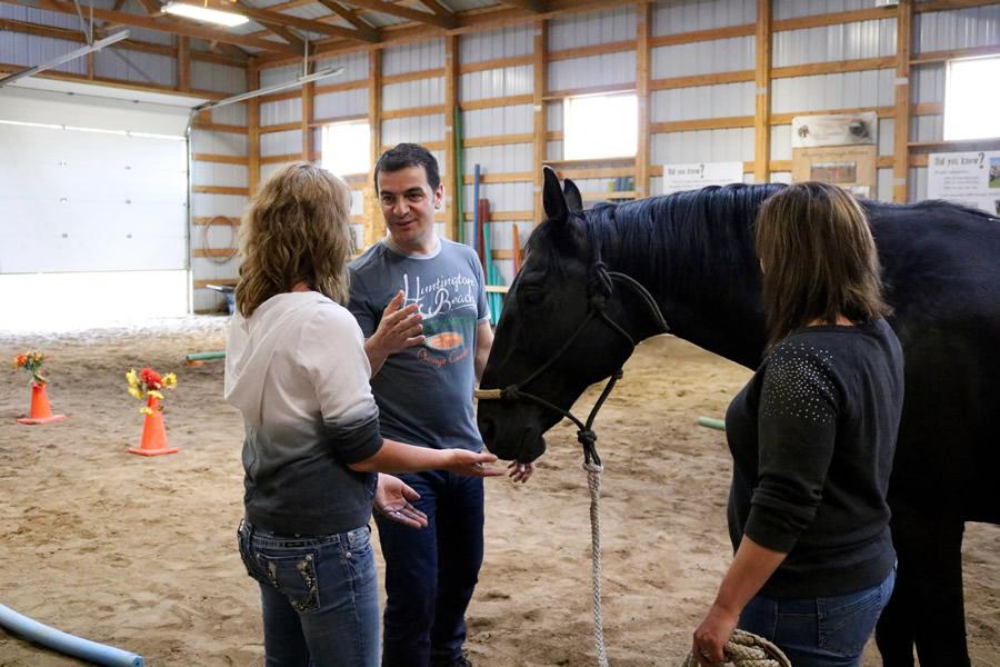 Integrativno ucenje sa konjima na Lazy Horse