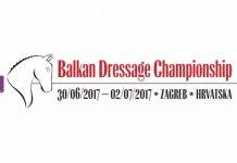Balkan dressage Championship Zagreb